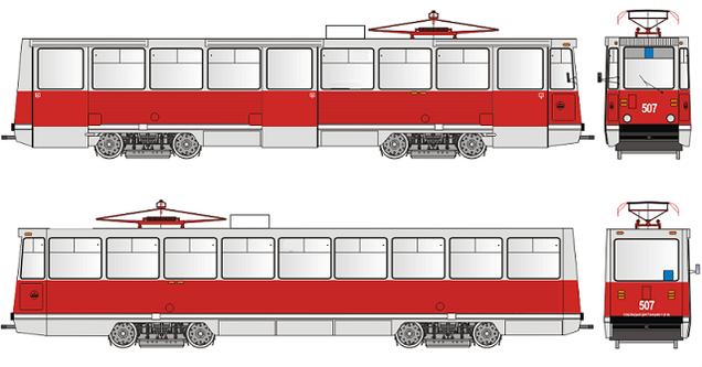 Как сделан трамвай